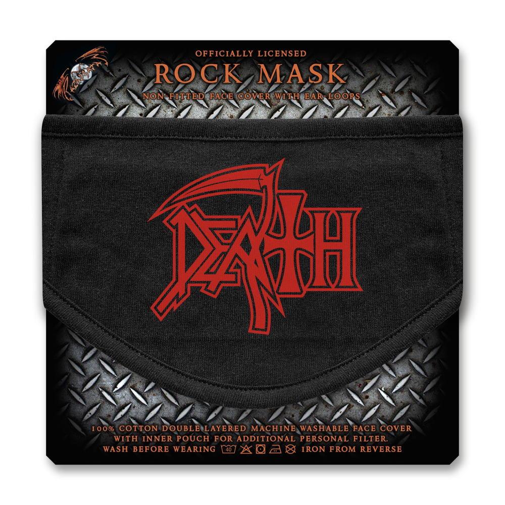 【予約商品】 DEATH デス - Logo  / フェイスカバー / 生活雑貨 【公式 / オフィシャル】