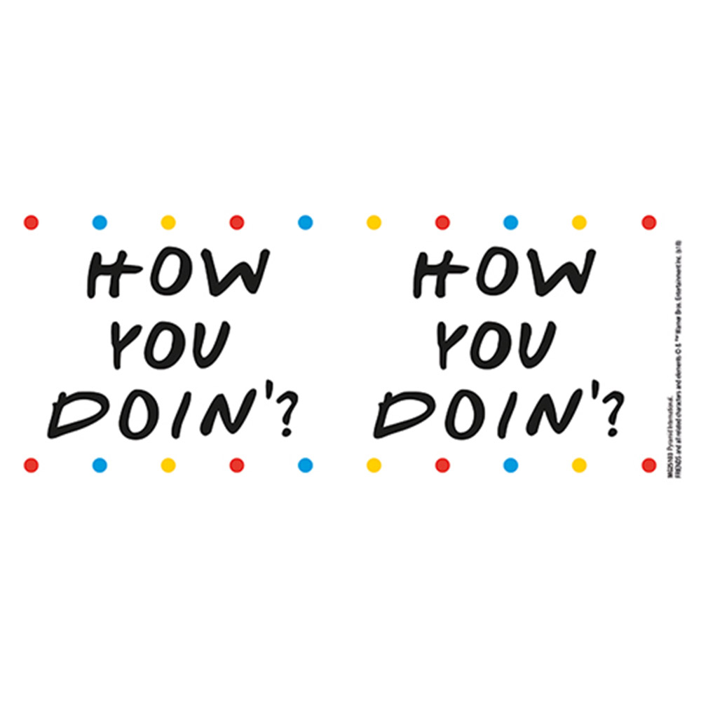 FRIENDS フレンズ How you Doin' - Dots / マグカップ 【公式 / オフィシャル】