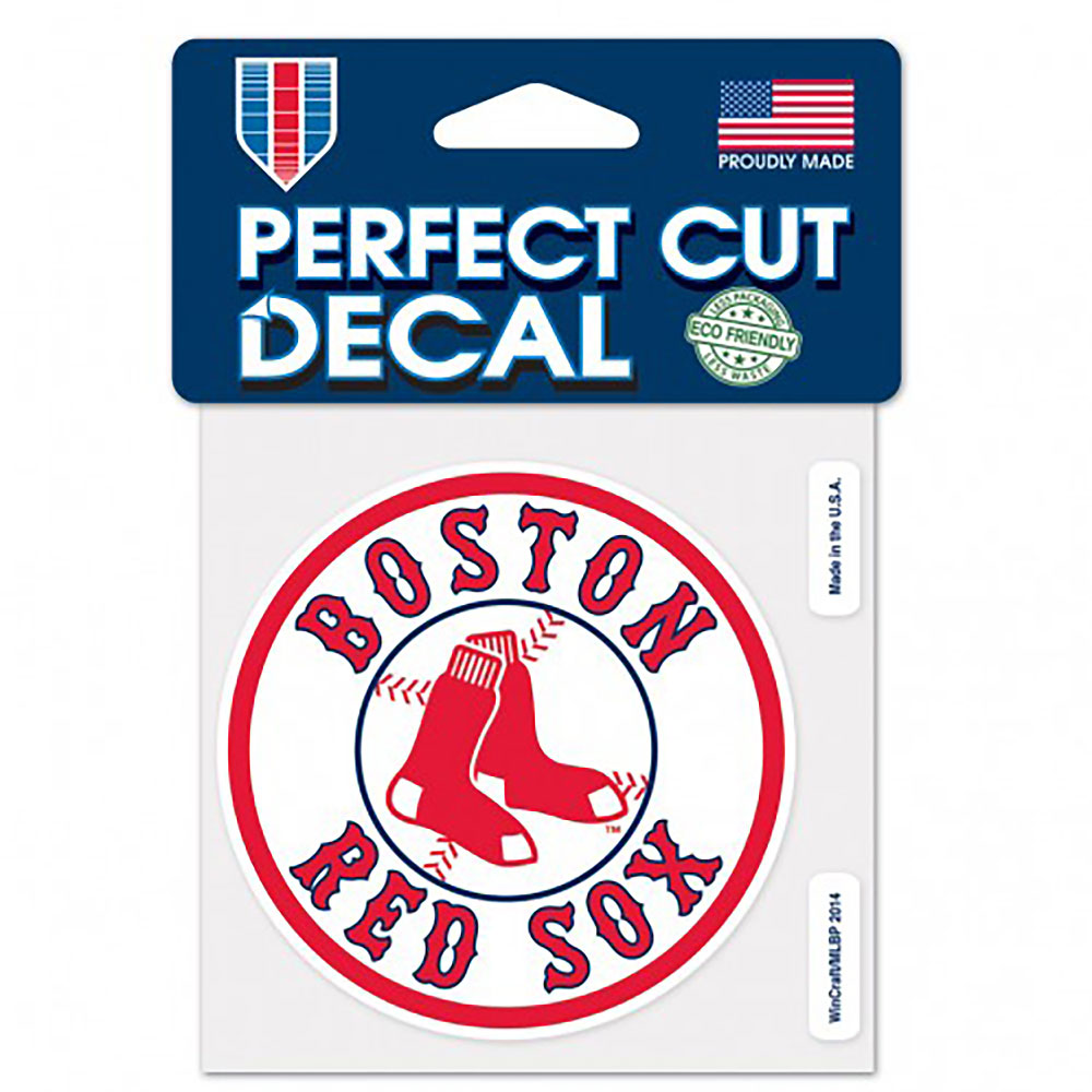 BOSTON RED SOX(MLB) ボストンレッドソックス - PERFECT CUT COLOR DECAL / ステッカー 【公式 / オフィシャル】