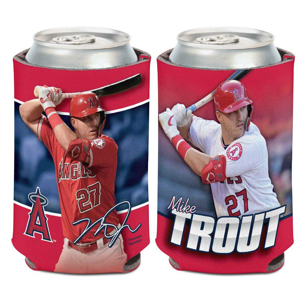 LOS ANGELES ANGELS(MLB) ロサンゼルスエンゼルス - MIKE TROUT / マイクトラウト CAN COOLER / ドリンク用品 【公式 / オフィシャル】