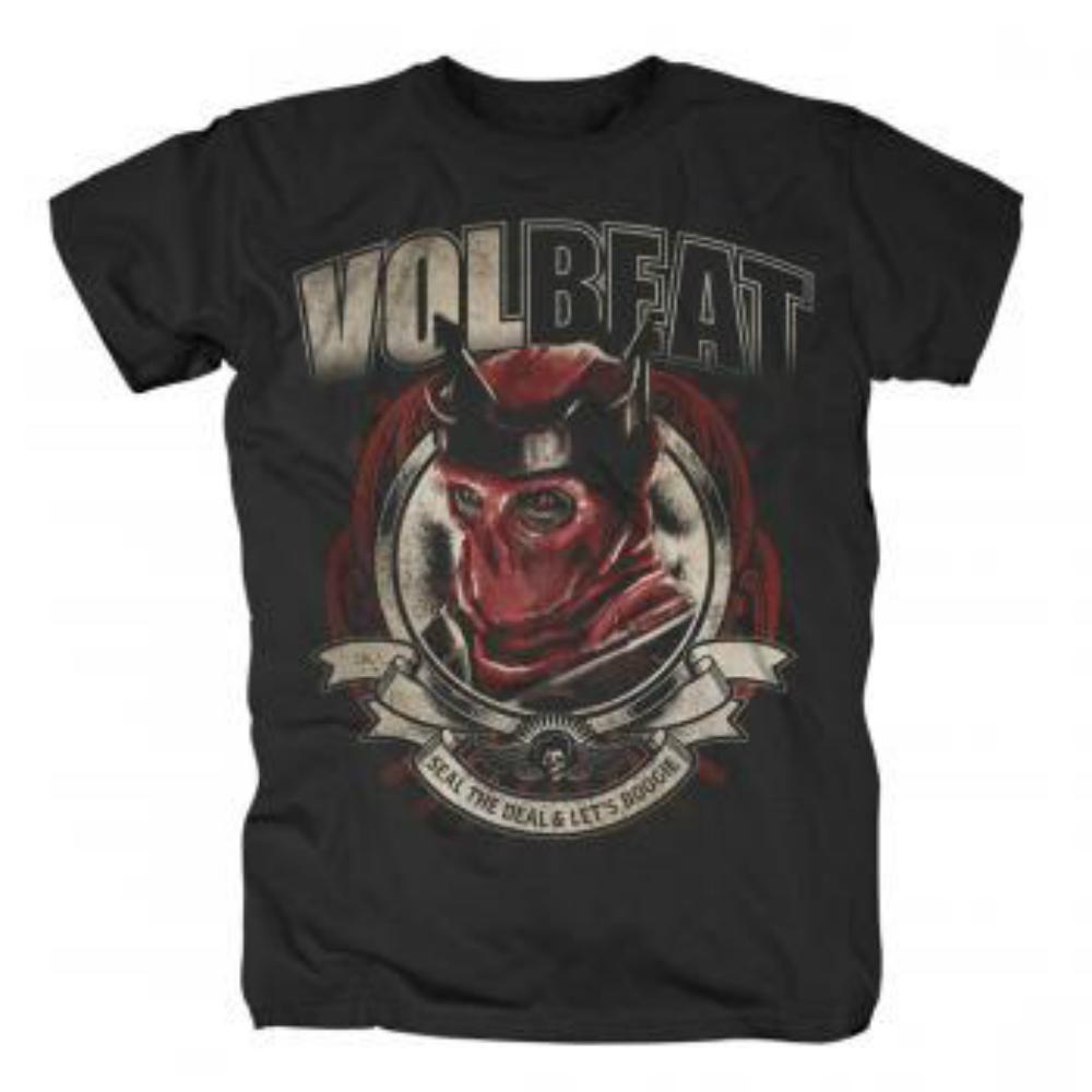 VOLBEAT ヴォルビート (結成20周年 ) - RED KING / Tシャツ / メンズ 【公式 / オフィシャル】