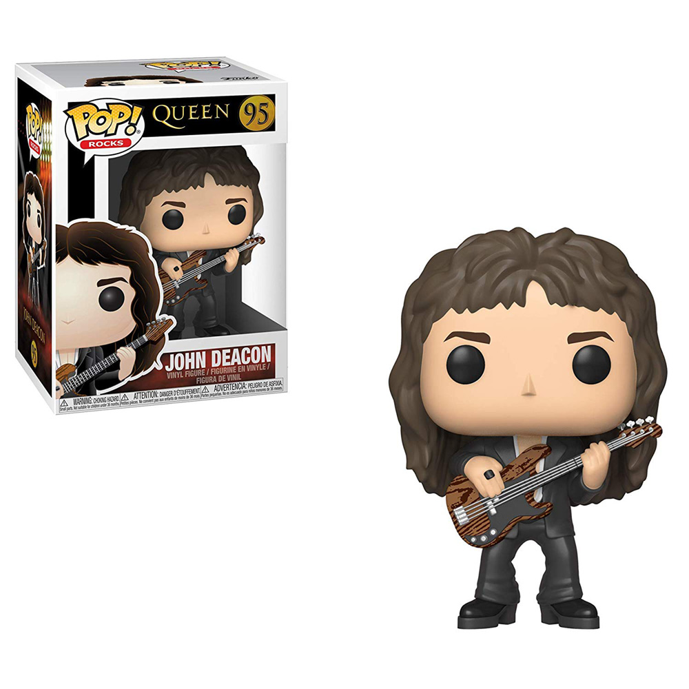 QUEEN クイーン (フレディ追悼30周年 ) - POP! ROCKS : John Deacon / フィギュア・人形 【公式 / オフィシャル】