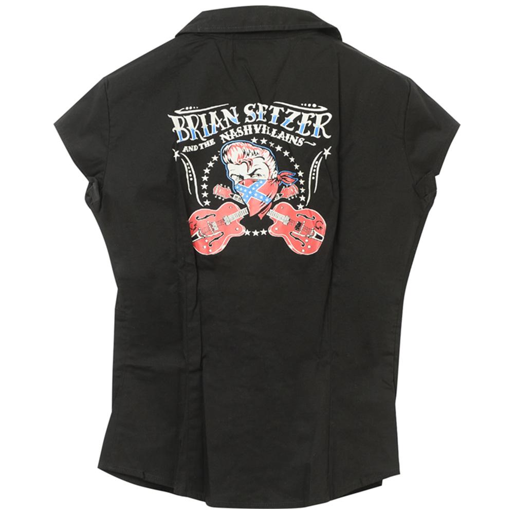 BRIAN SETZER ブライアンセッツァー - Girls Western Shirt / シャツ(襟付き) / レディース 【公式 / オフィシャル】