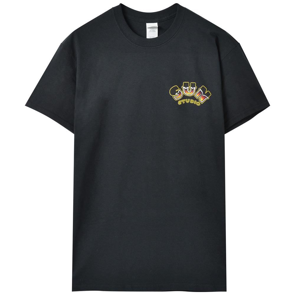 SUN STUDIO サンスタジオ - Guitar Tattoo / バックプリントあり / Tシャツ / メンズ 【公式 / オフィシャル】