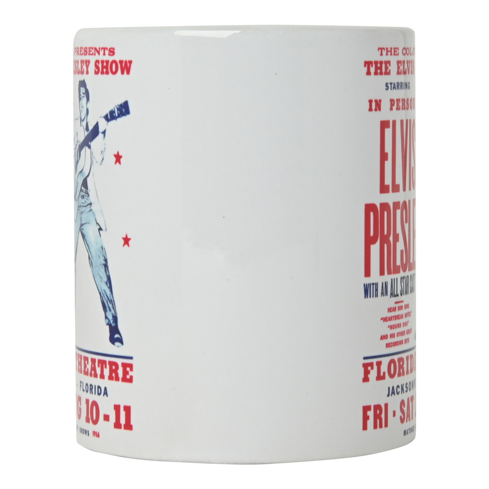 ELVIS PRESLEY エルヴィスプレスリー (RCAデビュー65周年記念 ) - LIVE / マグカップ 【公式 / オフィシャル】
