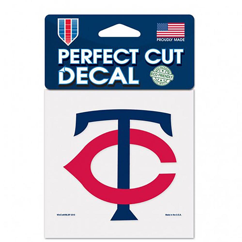 MINNESOTA TWINS(MLB) ミネソタツインズ - PERFECT CUT COLOR DECAL / ステッカー 【公式 / オフィシャル】