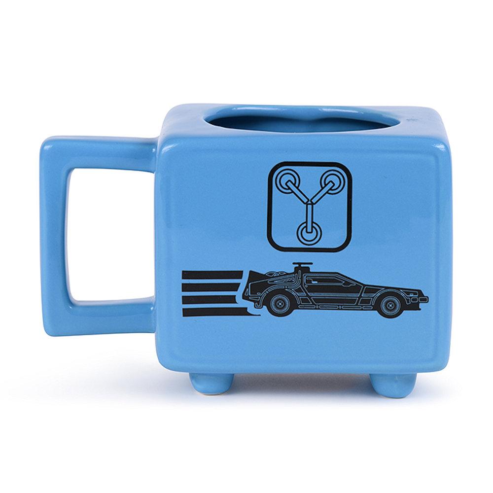 BACK TO THE FUTURE バックトゥザフューチャー (マイケルJフォックス生誕60周年 ) - Flux Capacitor / マジック・マグカップ / マグカップ 【公式 / オフィシャル】