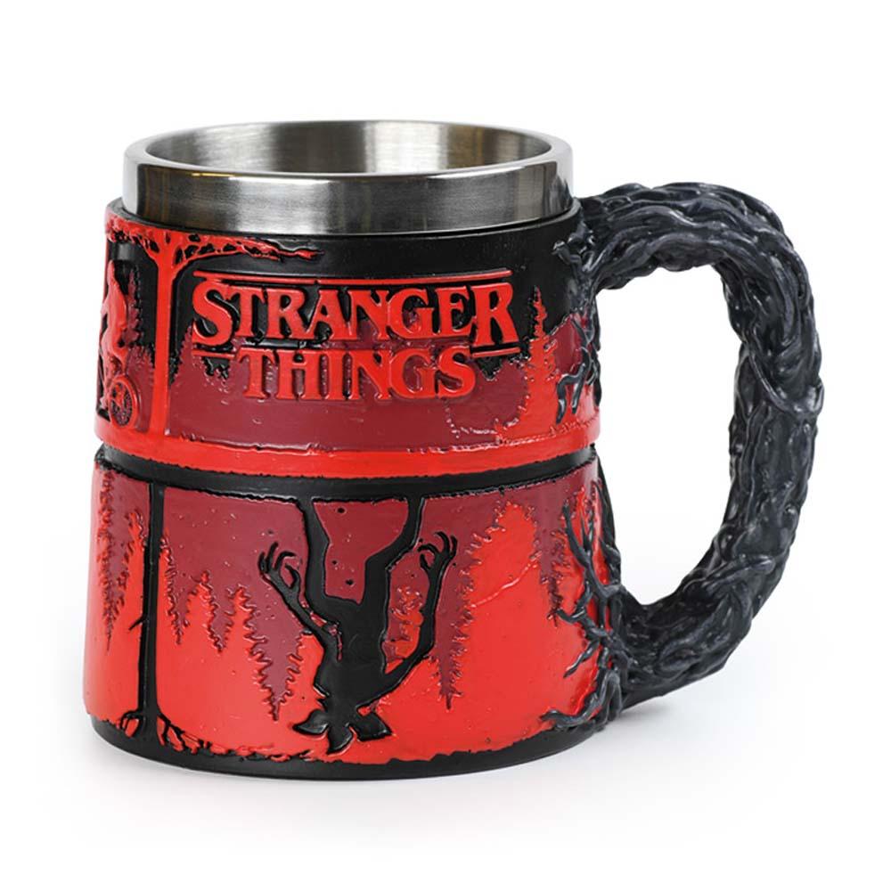 STRANGER THINGS ストレンジャー・シングス (放送5周年 ) - The Upside Down / 3D Polyresin / マグカップ 【公式 / オフィシャル】