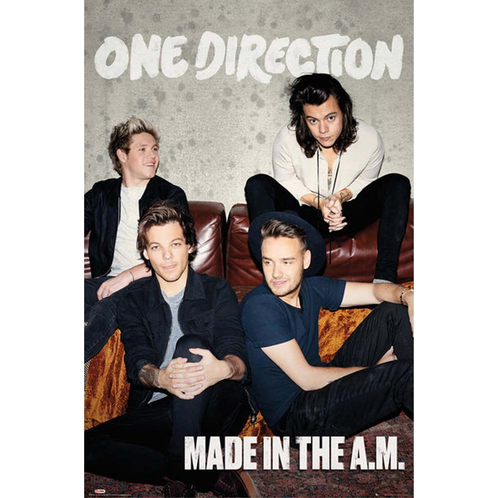 ONE DIRECTION ワンダイレクション - (絶版ポスター)Made In The A.M / ポスター 【公式 / オフィシャル】