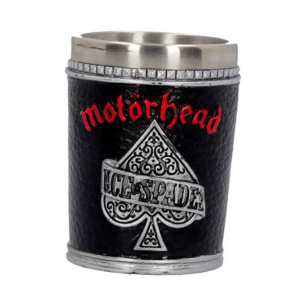 MOTORHEAD モーターヘッド - Shot Glass / ステンレス製 / 食器・グラス 【公式 / オフィシャル】