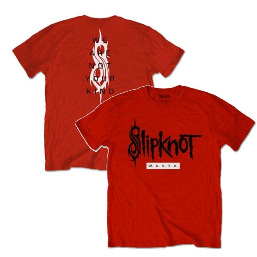 SLIPKNOT スリップノット (結成25周年記念 ) - WANYK / バックプリントあり / Tシャツ / メンズ 【公式 / オフィシャル】