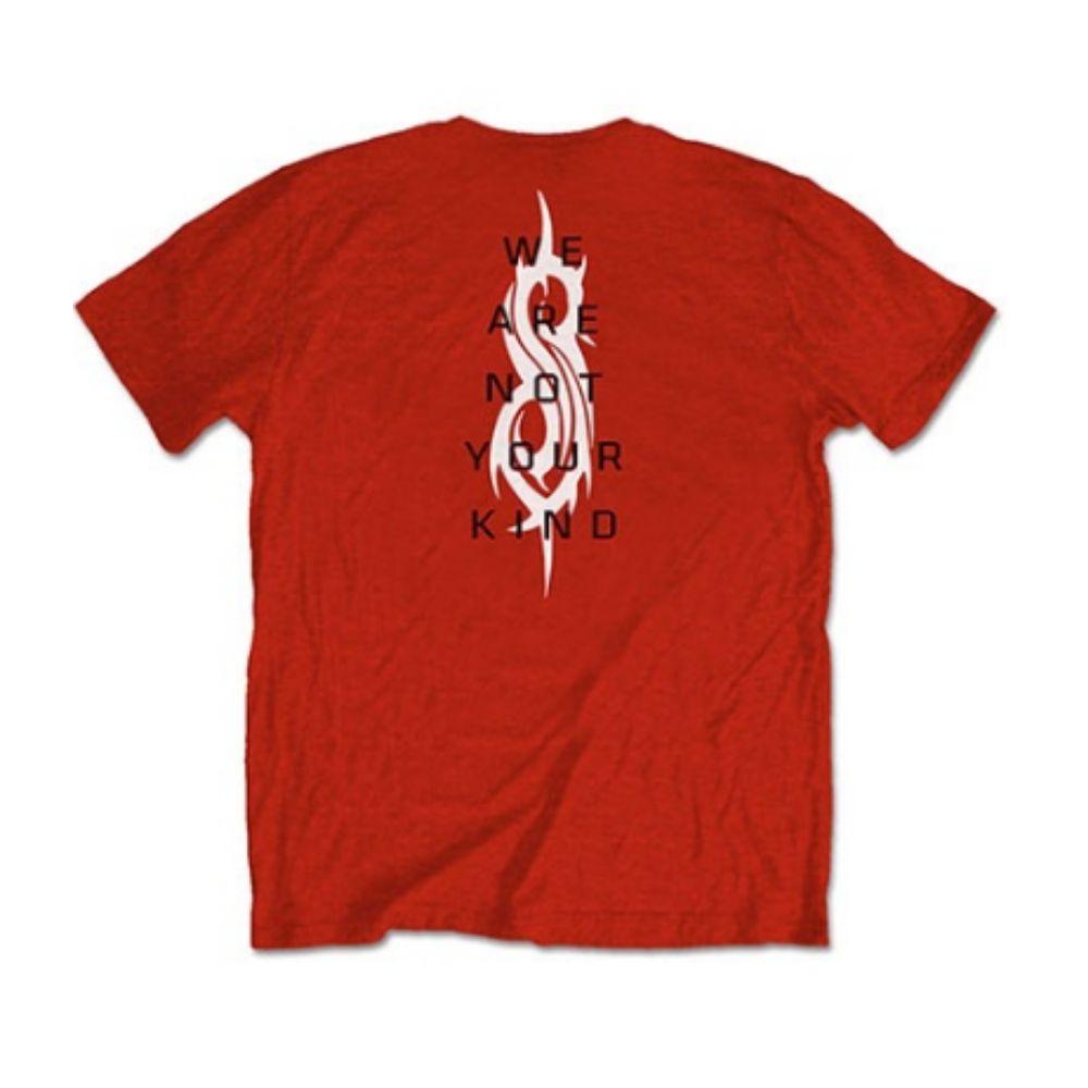 SLIPKNOT スリップノット - WANYK / バックプリントあり / Tシャツ / メンズ 【公式 / オフィシャル】