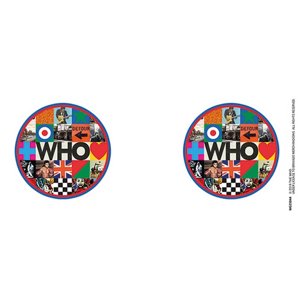 WHO ザ・フー (デビュー55周年記念 ) - Target Logo / マグカップ 【公式 / オフィシャル】