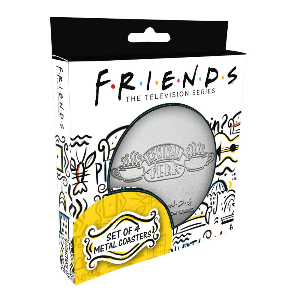 FRIENDS フレンズ - メタルDrinks Coaster 4枚Set / コースター 【公式 / オフィシャル】