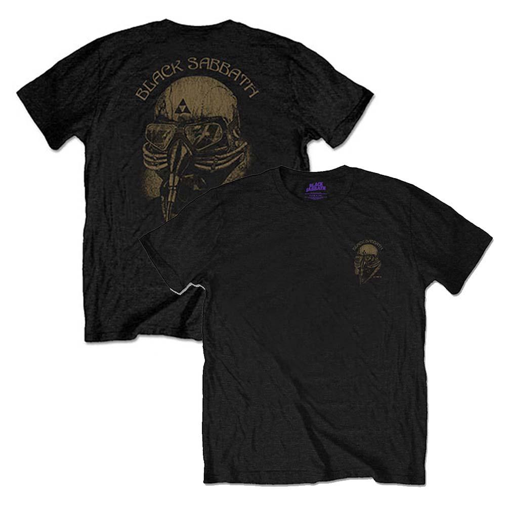 BLACK SABBATH ブラックサバス - US Tour 78 / バックプリントあり / Tシャツ / メンズ 【公式 / オフィシャル】