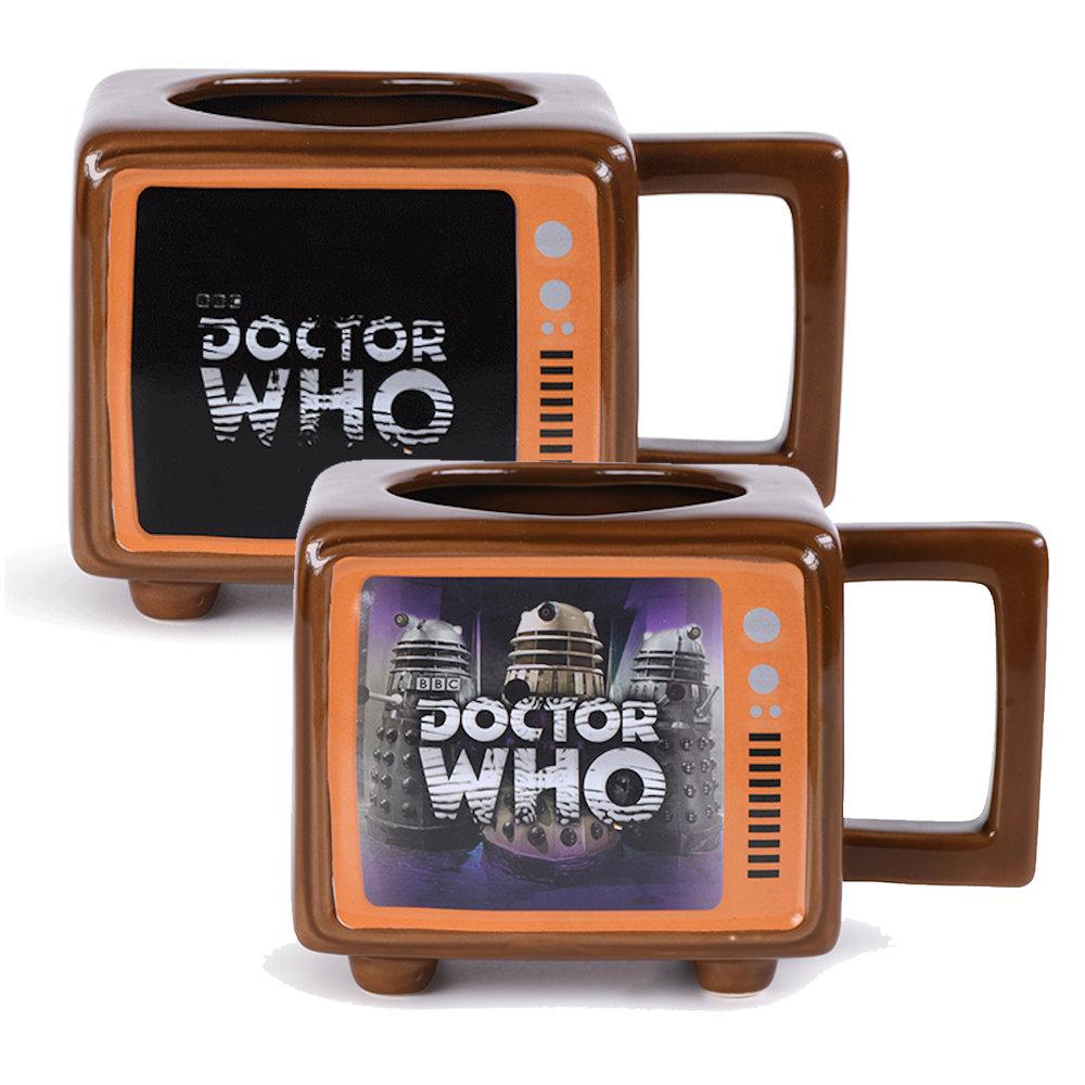 DOCTOR WHO ドクターフー - Hide Behind The Sofa / マジック・マグカップ / マグカップ 【公式 / オフィシャル】