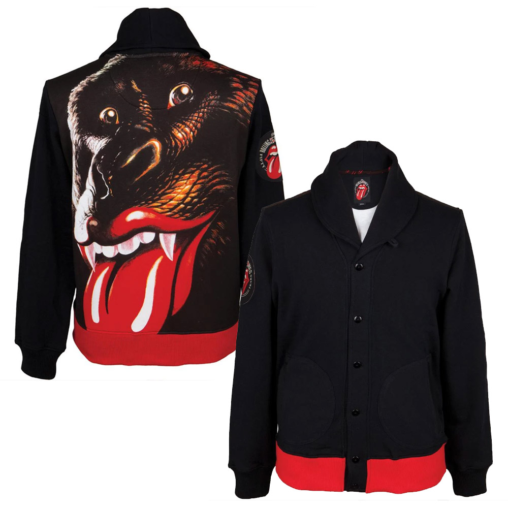 ROLLING STONES ローリングストーンズ (映画『GIMME SHELTER』公開50周年 ) - 【買付けSALE】Gorilla Tongue Button Up Jacket / バックプリントあり / アームプリントあり / アウター / メンズ 【公式 / オフィシ