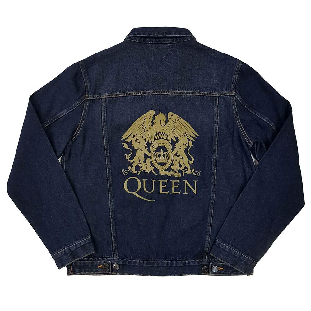【プレゼント付き】 QUEEN クイーン (フレディ追悼30周年 ) - Classic Crest / バックプリントあり / アウター / メンズ 【公式 / オフィシャル】