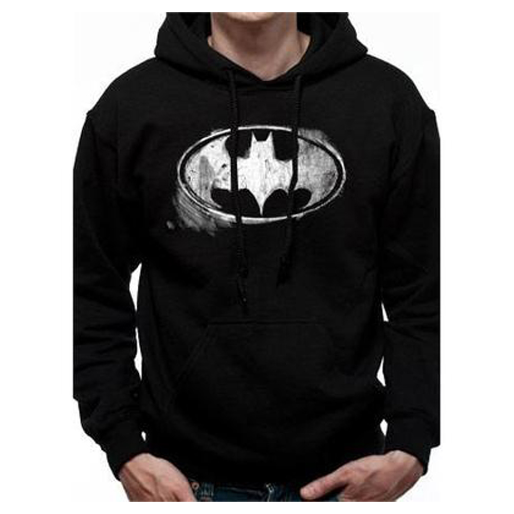 BATMAN バットマン - MONO DISTRESSED LOGO / スウェット・パーカー / メンズ 【公式 / オフィシャル】