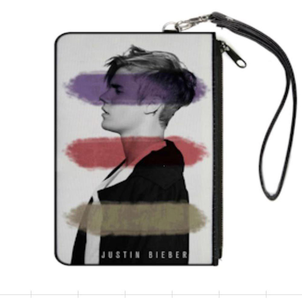 JUSTIN BIEBER ジャスティンビーバー - Canvas Zip Wallet / 財布 【公式 / オフィシャル】