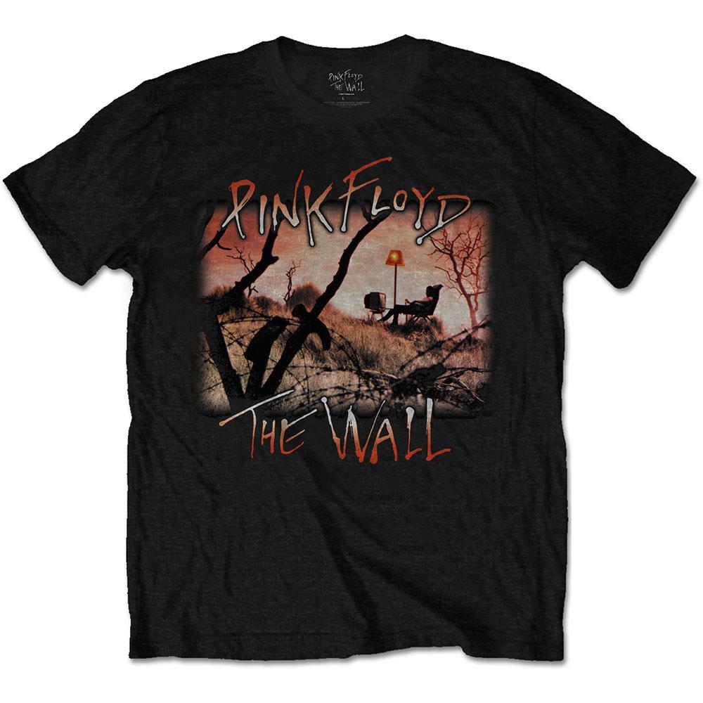 PINK FLOYD ピンクフロイド (Live at Knebworth発売記念 ) - The Wall Meadow / バックプリントあり / Tシャツ / メンズ 【公式 / オフィシャル】