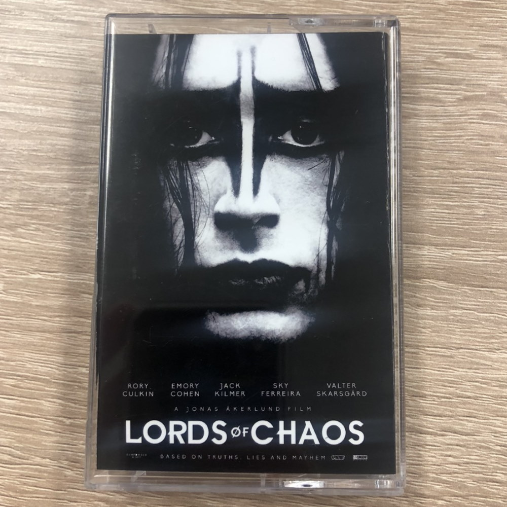 MAYHEM メイへム - ロード オブ カオス カセットテープ型 カードホルダー / カードケース 【公式 / オフィシャル】