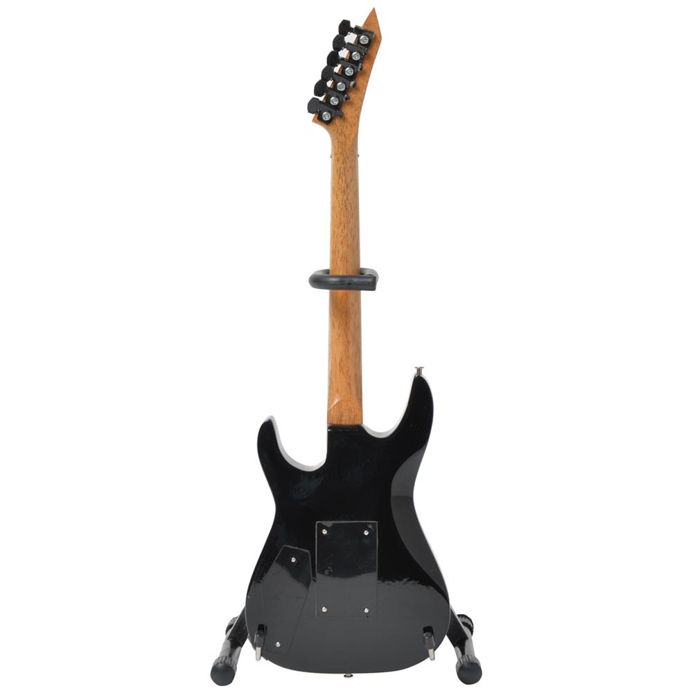 METALLICA メタリカ (結成40周年 ) - Kirk Hammett愛用モデル / CAUTION HOT / ミニチュア ギター / ミニチュア楽器 【公式 / オフィシャル】