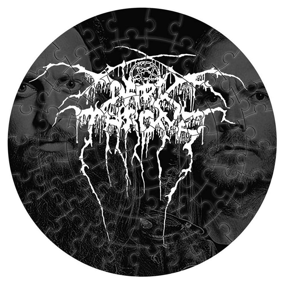 DARKTHRONE ダークスローン - Logo / 72ピース円形 / パズル 【公式 / オフィシャル】