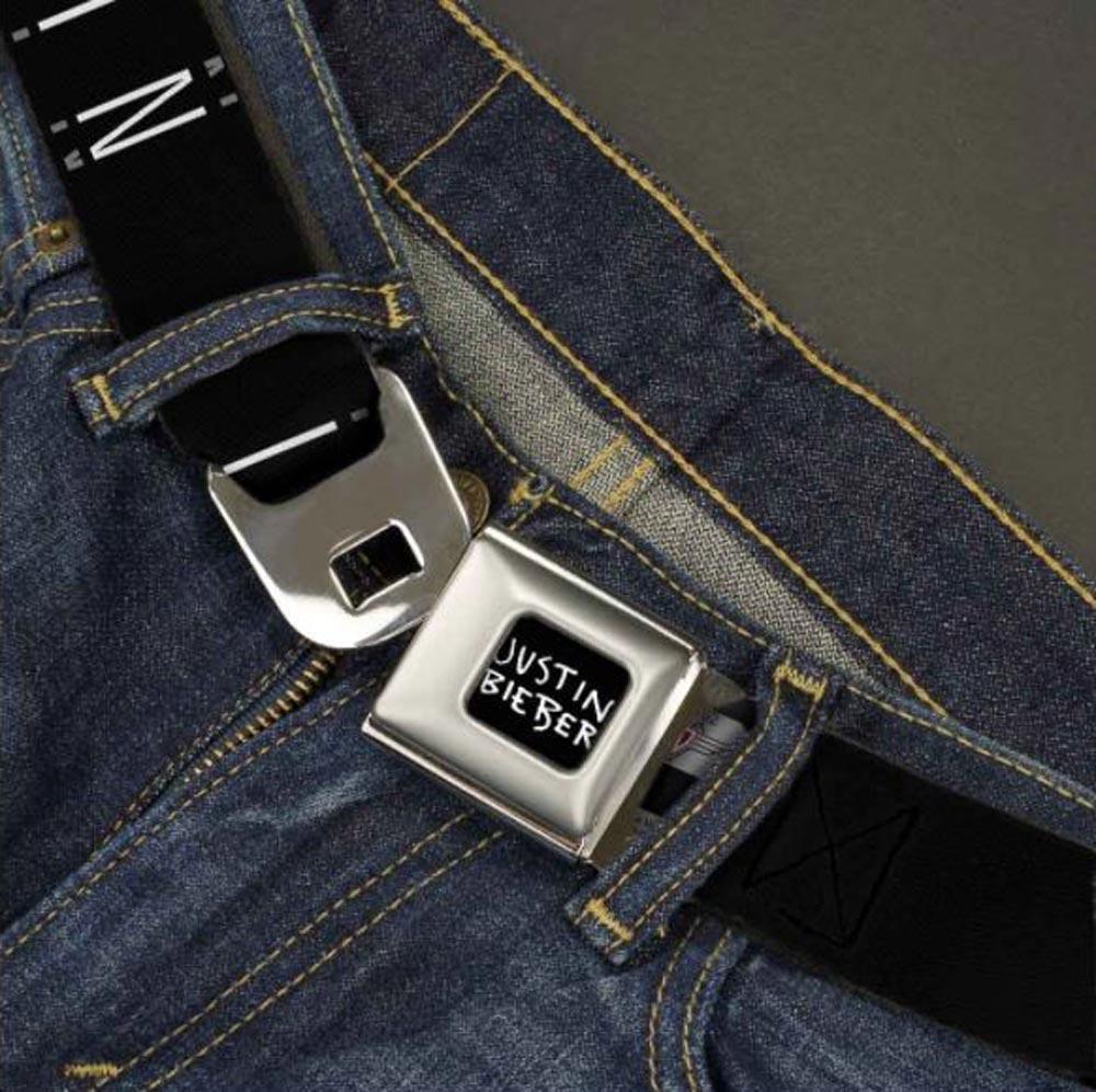 JUSTIN BIEBER ジャスティンビーバー - Seatbelt Belts / ARMS UP POSE / ベルト・バックル 【公式 / オフィシャル】