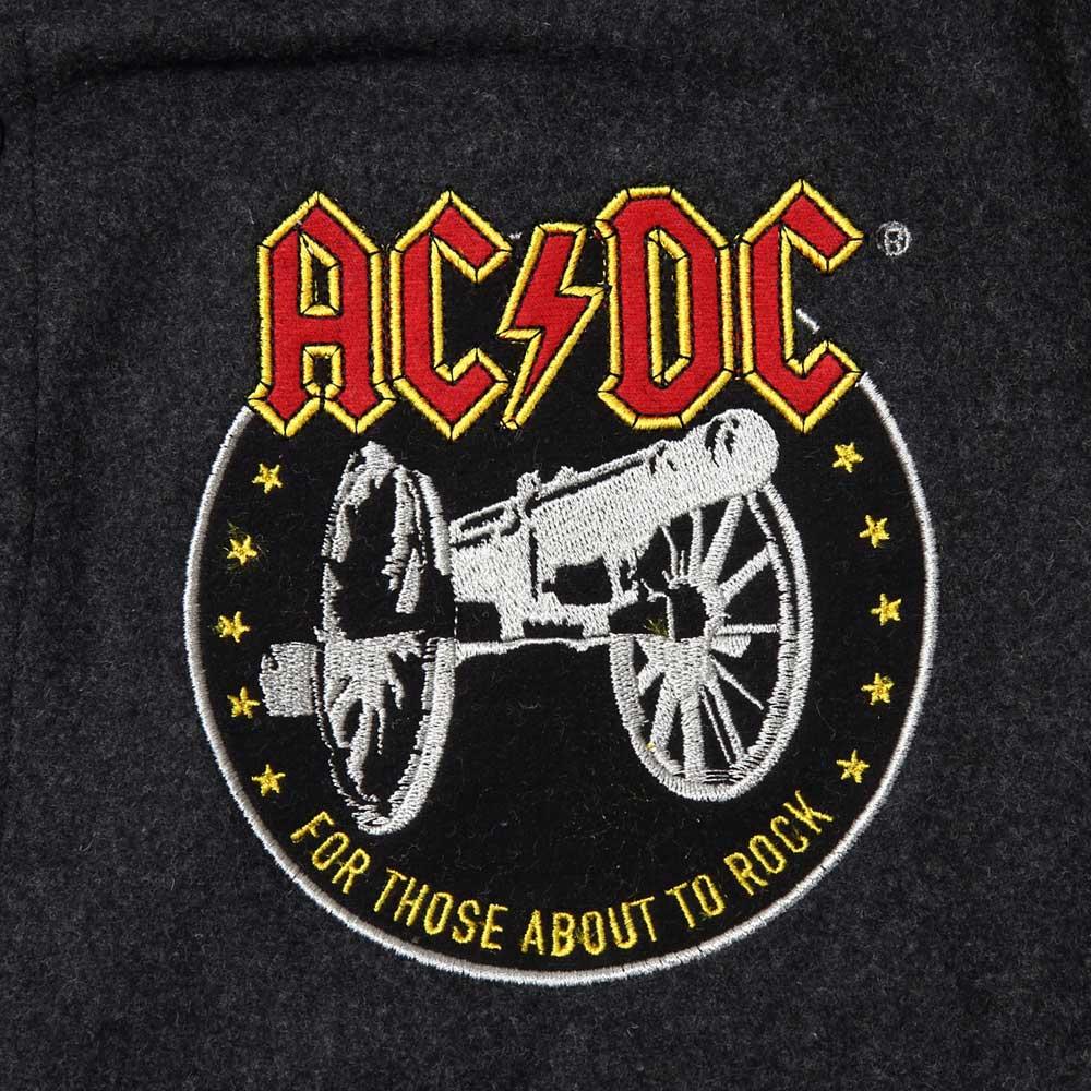 AC/DC エーシーディーシー (初来日40周年 ) - VARSITY JACKET / Amplified( ブランド ) / アウター / メンズ 【公式 / オフィシャル】