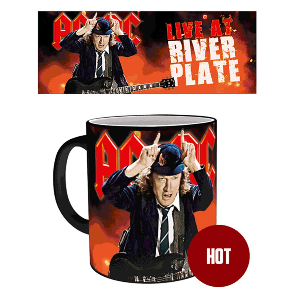 AC/DC エーシーディーシー (新譜パワーアップ発売記念 ) - Live / マジック・マグカップ / マグカップ 【公式 / オフィシャル】