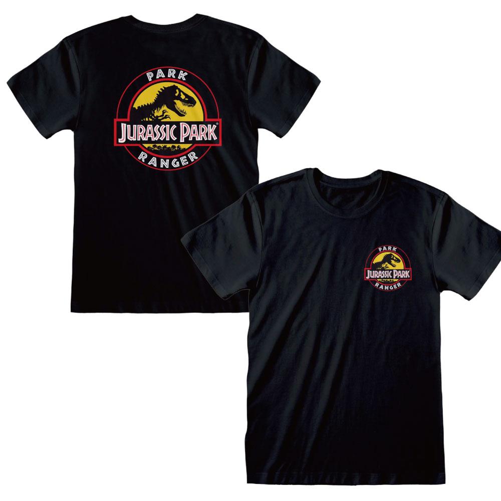 JURASSIC PARK ジュラシックパーク - PARK RANGER / バックプリントあり / Tシャツ / メンズ 【公式 / オフィシャル】