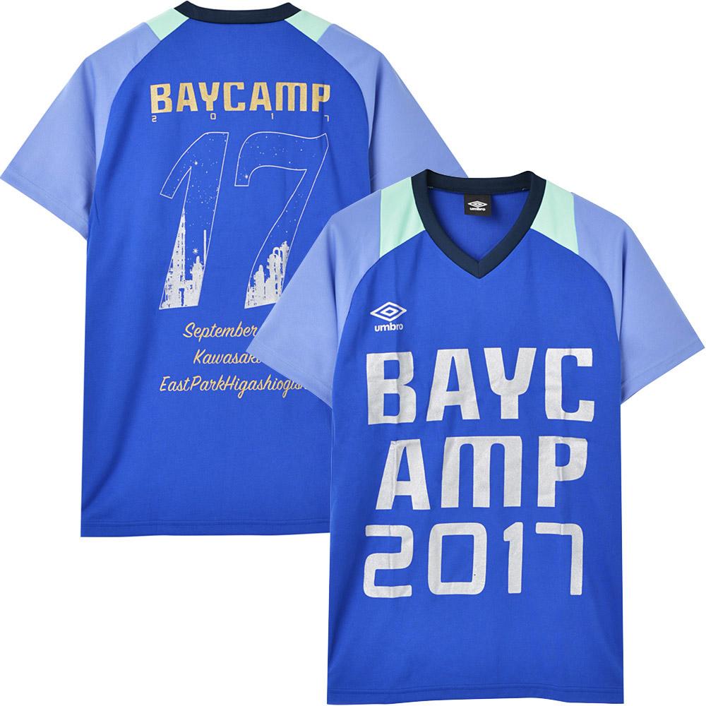 BAYCAMP ベイキャンプ - 2017 ドライTシャツ / バックプリントあり / umbro(ブランド) / Tシャツ / メンズ 【公式 / オフィシャル】