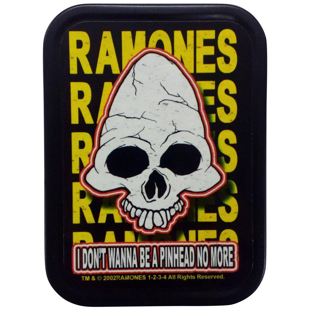 RAMONES ラモーンズ (デビュー45周年 ) - STASH TIN ROUNDHEAD / グッズ 【公式 / オフィシャル】