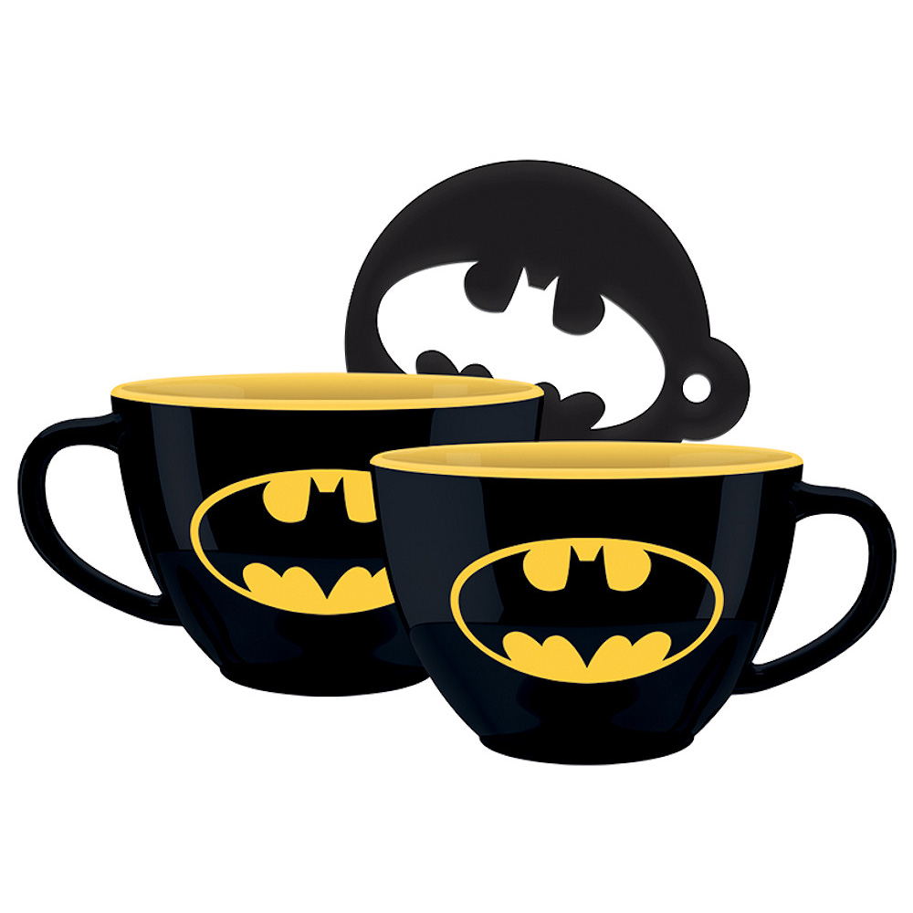 BATMAN バットマン - Symbol ( 22oz)/ カプチーノ / マグカップ 【公式 / オフィシャル】