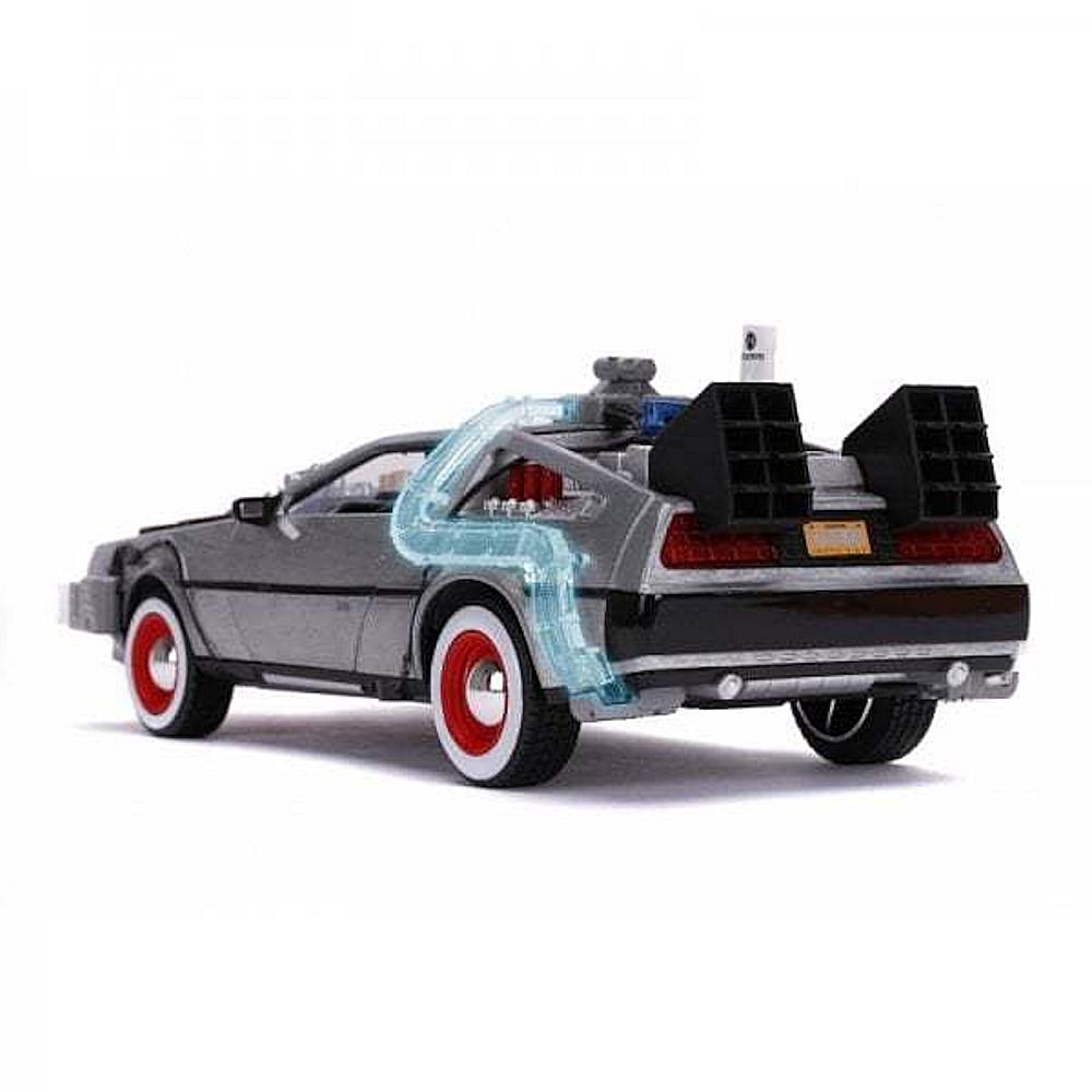 BACK TO THE FUTURE バックトゥザフューチャー (マイケルJフォックス生誕60周年 ) - BTTF3 /1:24 Scale Die-Cast Metal Vehicle with Lights / フィギュア・人形 【公式 / オフィシャル】