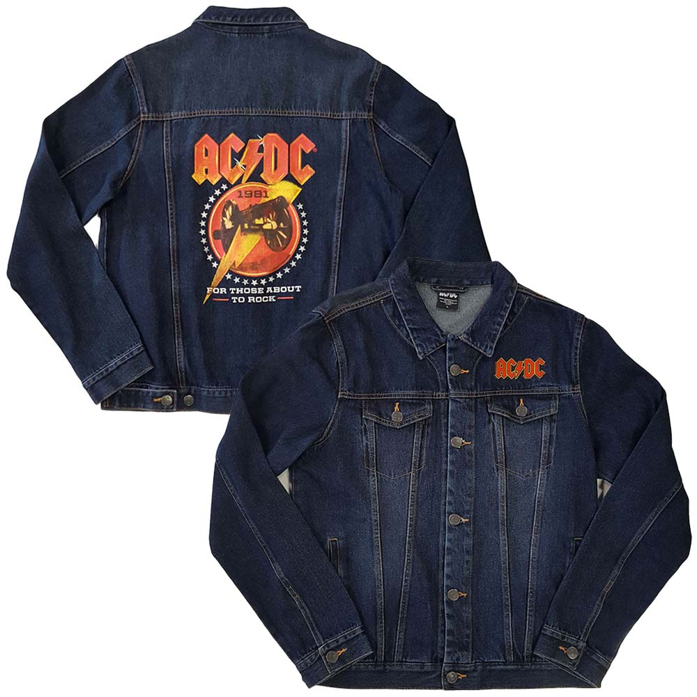 AC/DC エーシーディーシー (初来日40周年 ) - About To Rock / バックプリントあり / アウター / メンズ 【公式 / オフィシャル】