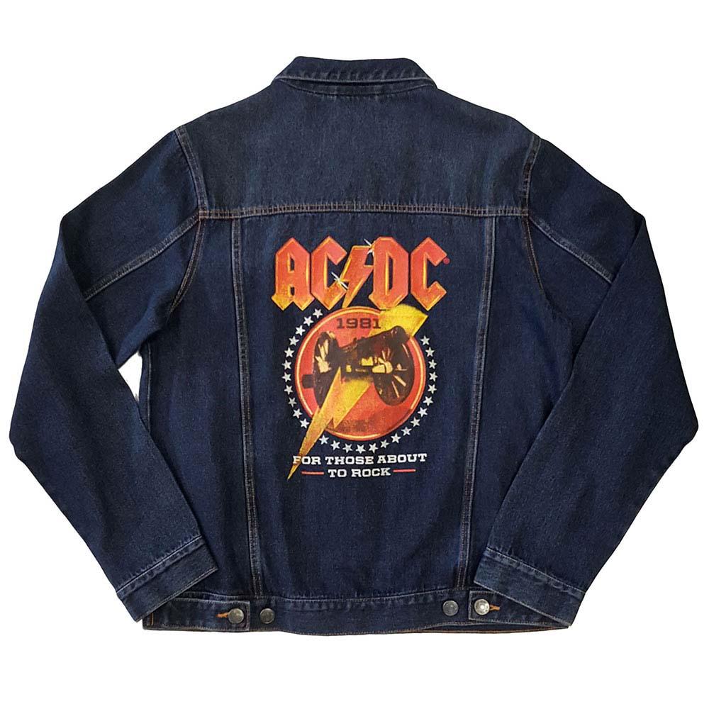 【予約商品】 【プレゼント付き】 AC/DC エーシーディーシー (初来日40周年 ) - About To Rock / バックプリントあり / アウター / メンズ 【公式 / オフィシャル】