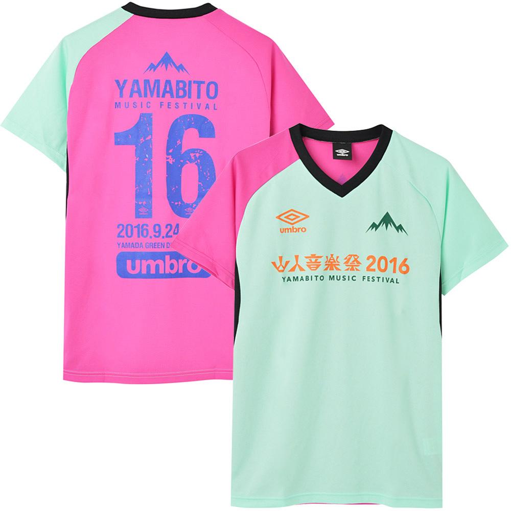 YAMABITO MUSIC FESTIVAL 山人音楽祭 - 2016 ドライTシャツ / バックプリントあり / umbro(ブランド) / Tシャツ / メンズ 【公式 / オフィシャル】