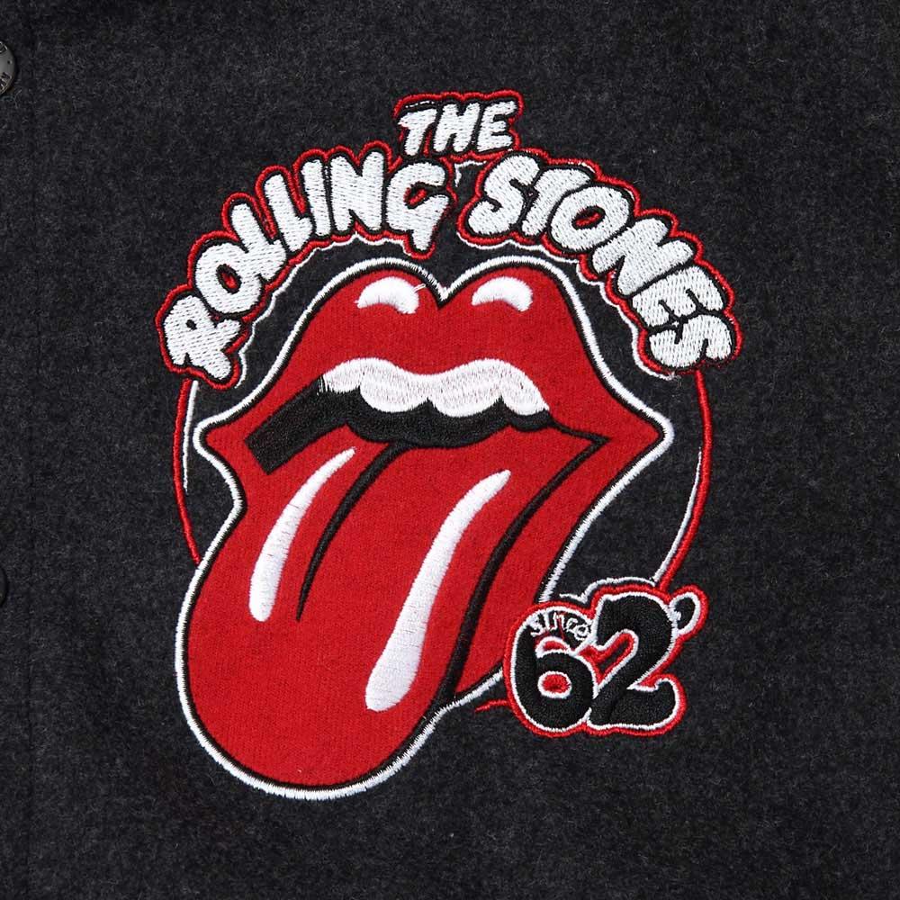 ROLLING STONES ローリングストーンズ (来日30周年記念 ) - VARSITY JACKET / Amplified( ブランド ) / アウター / メンズ 【公式 / オフィシャル】