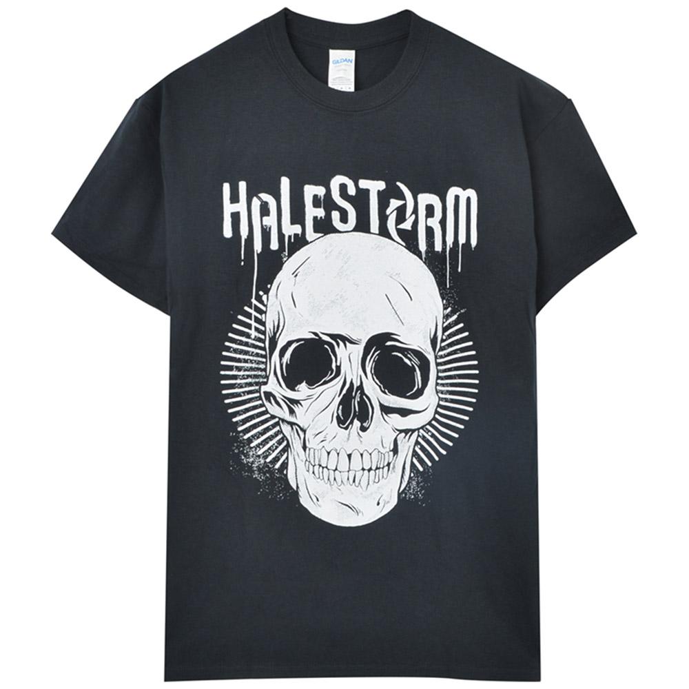 HALESTORM ヘイルストーム - HALESKULL / バックプリントあり 【限定】 / Tシャツ / メンズ 【公式 / オフィシャル】