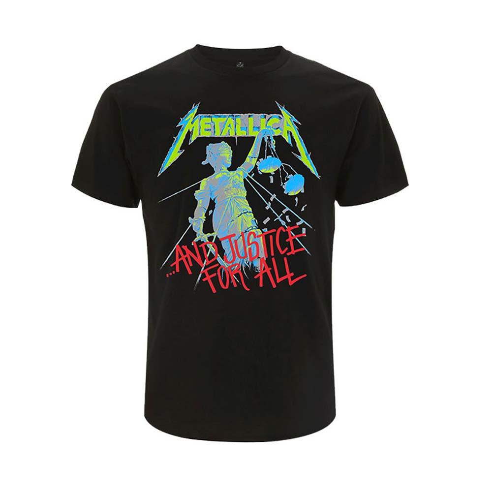 METALLICA メタリカ - And Justice For All / バックプリントあり / Tシャツ / メンズ 【公式 / オフィシャル】