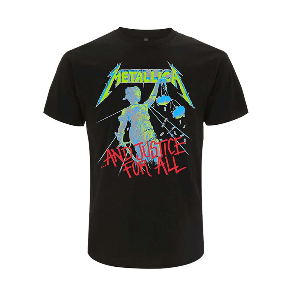 METALLICA メタリカ (結成40周年 ) - And Justice For All / バックプリントあり / Tシャツ / メンズ 【公式 / オフィシャル】