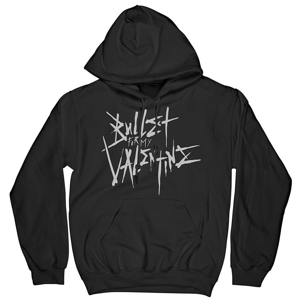 BULLET FOR MY VALENTINE ブレットフォーマイヴァレンタイン (新譜発売 ) - Large Logo & Album / バックプリントあり / パーカー・スウェット / メンズ 【公式 / オフィシャル】