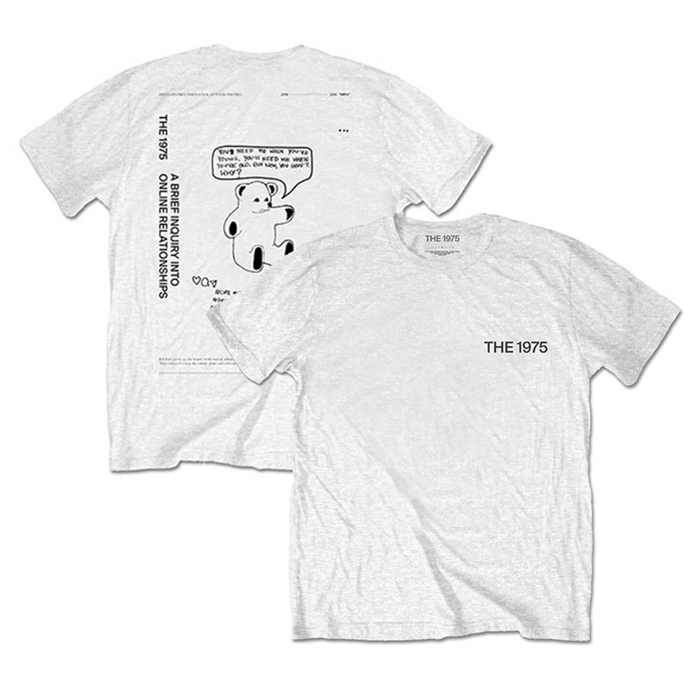 THE 1975 - ABIIOR Teddy / バックプリントあり / Tシャツ / メンズ 【公式 / オフィシャル】