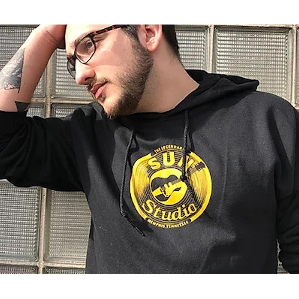 SUN STUDIO サンスタジオ - Guitar Logo / スウェット・パーカー / メンズ 【公式 / オフィシャル】