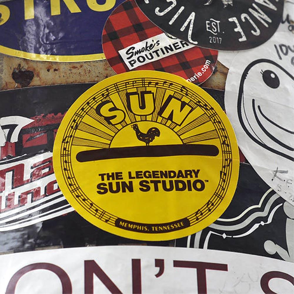 SUN STUDIO サンスタジオ - rooster logo / ステッカー 【公式 / オフィシャル】