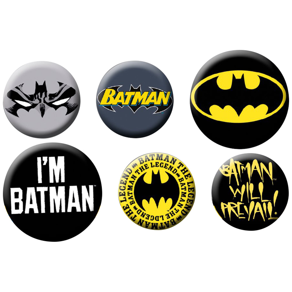 BATMAN バットマン - Mix / バッジ 【公式 / オフィシャル】