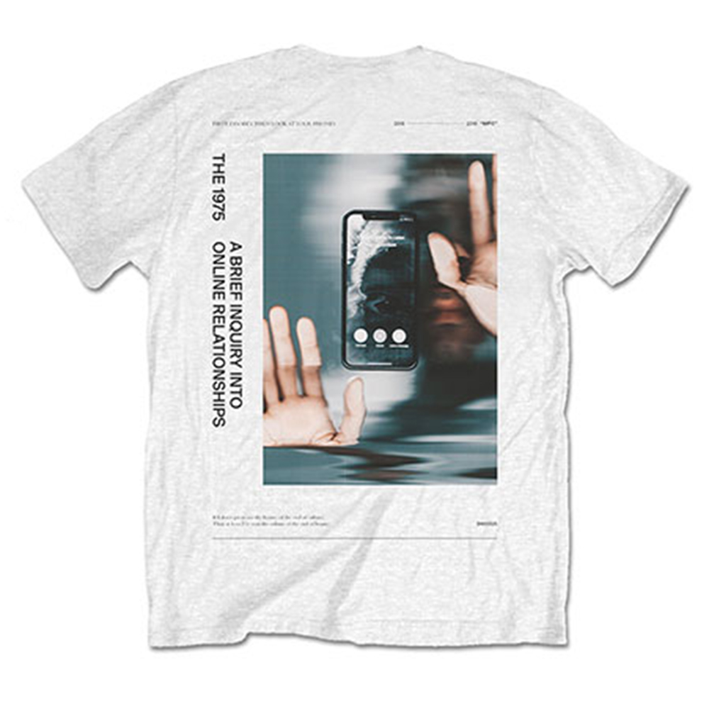 THE 1975 - ABIIOR Side Face Time / バックプリントあり / Tシャツ / メンズ 【公式 / オフィシャル】