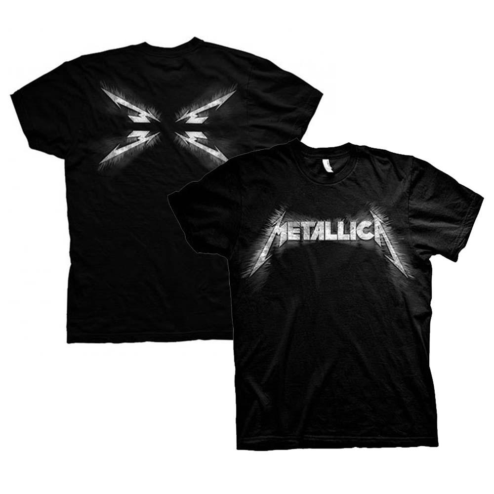 METALLICA メタリカ (結成40周年 ) - Spiked / バックプリントあり / Tシャツ / メンズ 【公式 / オフィシャル】